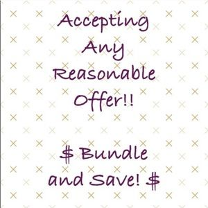Other - Bundle and Save, Make Me an Offer💕💕💕